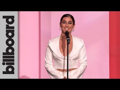 Lauren Jauregui Presents Rosalía With Rising Star Award | Women In Music