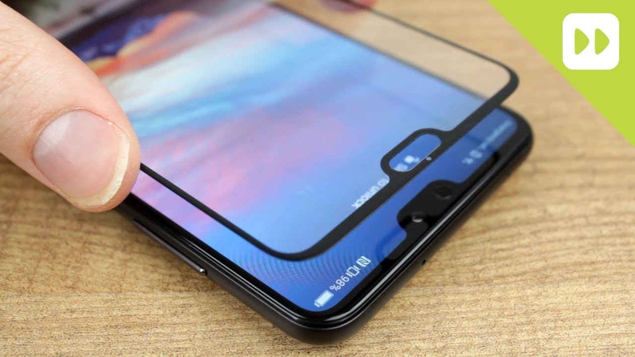 size 40 33027 19c53 Olixar Huawei P20 Pro Full Cover Glass Screen Protector Installation Guide  & Review