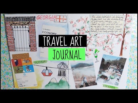 Travel Art Journal | Georgia 2017