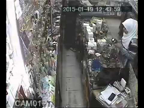un voleur a Oran Choupot Cosmétique Nordin