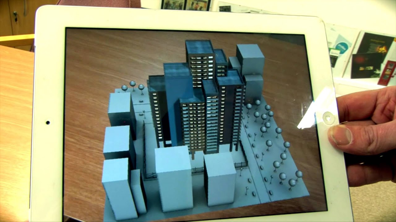 3d Interactive Wallpaper Augmented Reality For Real Estate A Few Examples Youtube