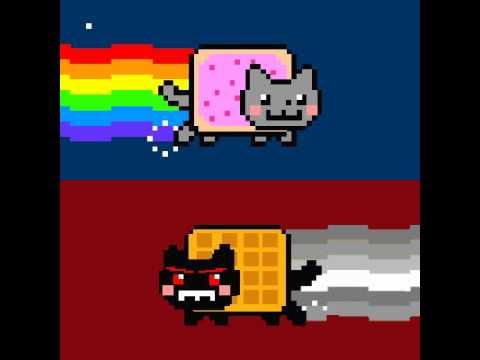 Nyan dog gif
