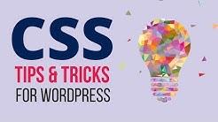 How to Customize & Design any WordPress Theme - WordPress CSS Tips & Tricks Tutorial