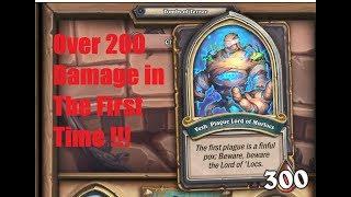 #Hearthstone Vesh. Plague Lord  of Murlocs over 200+ damage in the fist game