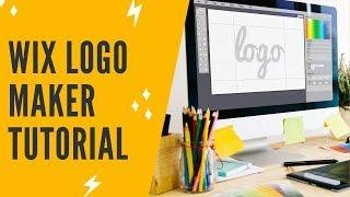 WIX LOGO MAKER TUTORIAL + WIX LOGO MAKER REVIEW: Wix Free Logo Maker App - Free Logo Design Software