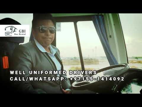 gbi bus rental dubai, bus hire dubai, luxury bus rental dubai, bus on rental dubai, tour bus dubai