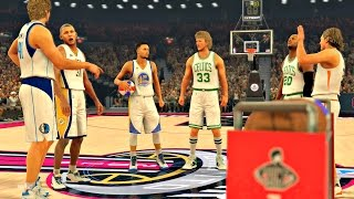 nba 2k17 the greatest 3 point contest of all time curry bird allen nash nowitzki miller ps4