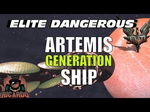 Elite: dangerous - Artemis generation ship disaster  discovery 📡