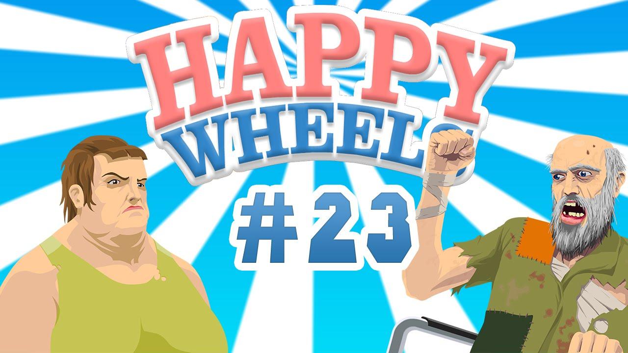 happy wheels 23