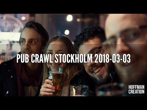 Pub Crawl Stockholm - 2018-03-03