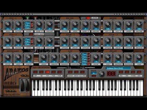 15 Cool Free Software Synthesizers  (demo)