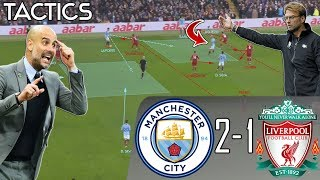 How Pep Ended Liverpool's Unbeaten Run in Biggest Game of the Season: Man City vs Liverpool Tactics