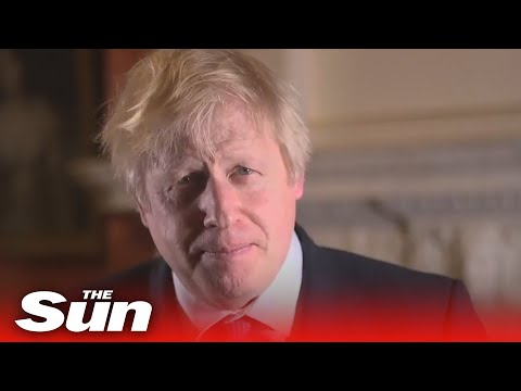 Boris Johnson Outlines His Plans For The Country As He Wishes The Nation A Happy New Year