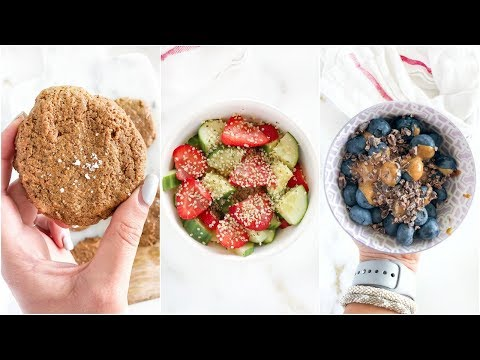 Healthy Snacks With 3 Ingredients!   paleo recipes