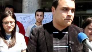 Прес изјава на Ѓорги Кљанков   ЛК на СДММ Струмица 07 05 2011
