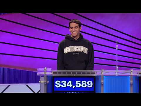 Jeopardy! Tournament of Champions: Jim Coury