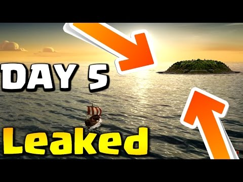 Thumbnail: Captain's Log Day 5 Leaked Video : Clash of Clans - New Mysterious Land? UPDATE DATE ?