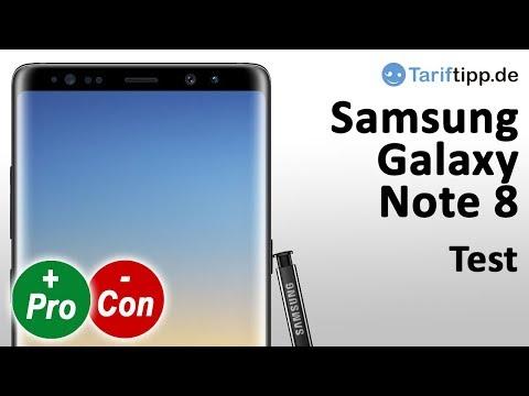 Samsung Galaxy Note 8 | Test deutsch | Stärken & Schwächen | Pro & Contra