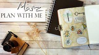 Plan With Me | März 2019 | Bullet Journal Setup | deutsch