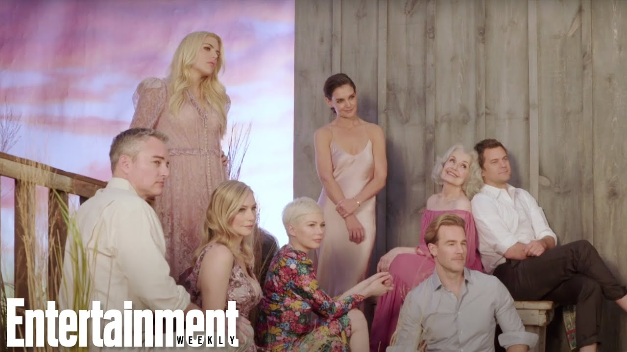 Dawson's Creek Full Reunion ft James Van Der Beek, Katie Holmes & More (2018)
