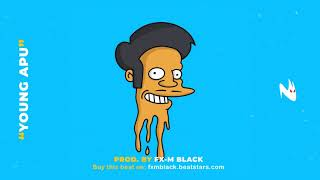 "BASE DE RAP DOBLE TEMPO - ""YOUNG APU"" - RAP BEAT HIP HOP INSTRUMENTAL FREESTYLE (Prod. Fx-M Black)"
