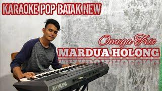 MARDUA HOLONG - Karaoke + Lirik Pop Batak Terbaru 2020 Omega Trio || Samuel Diasty
