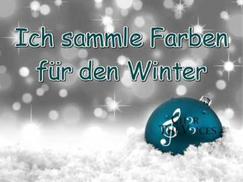 ich sammle farben f r den winter youtube. Black Bedroom Furniture Sets. Home Design Ideas