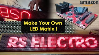 Scrolling Text Led Display | 16X32 led matrix || how to make led display at home screenshot 5