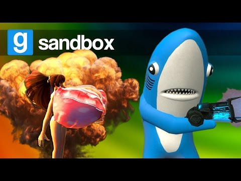BIG BOOMS & SHRINK RAYS! | Garry's Mod Sandbox (Funny Moments)