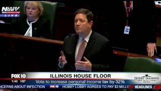 "ILLINOIS HOUSE FLOOR: ""This Budget Is Going To Hurt People"" (FNN)"