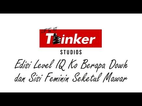 Life At Thinker: Edisi Level IQ Ko Berapa Dowh dan Sisi Feminin Seketul Mawar