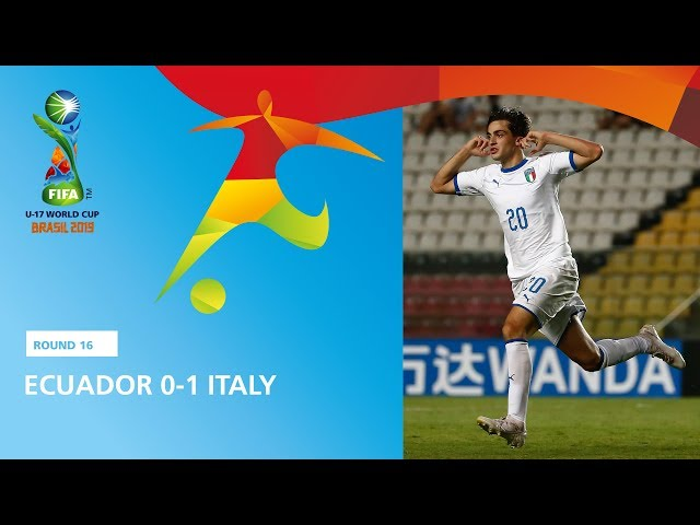 Ecuador v Italy Highlights - FIFA U17 World Cup 2019 ™