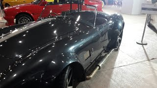 Auto Expo Motor Show India | Vintage Car SHELBY COBRA 1967 | BMW E30 1989 | FORD MUSTANG MACH-1 1971