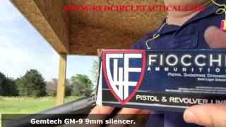 Gemtech GM-9 VS Innovative Arms Lex 9mm Silencer Suppressor comparison