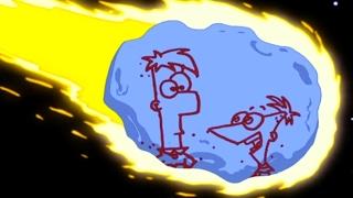 Финес и Ферб - Комета кермиллиана | Популярные мультфильмы Disney (1 Сезон 16/2 серия)