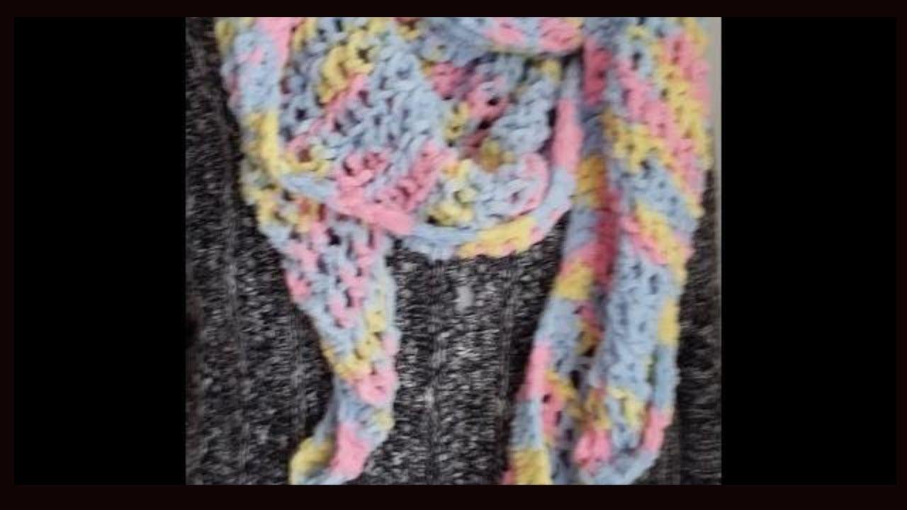 Round Loom Knitting Knit A Shawl Scarf In A Few Hours Youtube