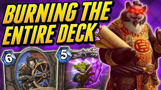 An Unstable Element just for You | Combo Rogue | Wild Hearthstone Saviors of Uldum