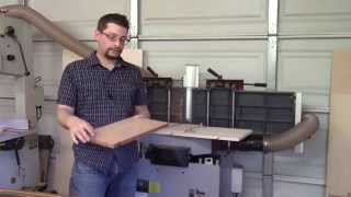 Planer Sled For Milling Wide Boards