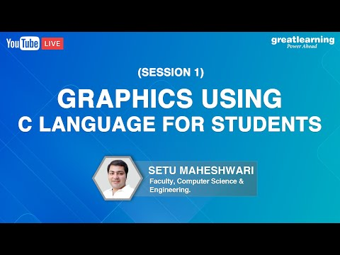 Visual Graphics Using C Language For Students | Visual Graphics In C Programming | Great Learning