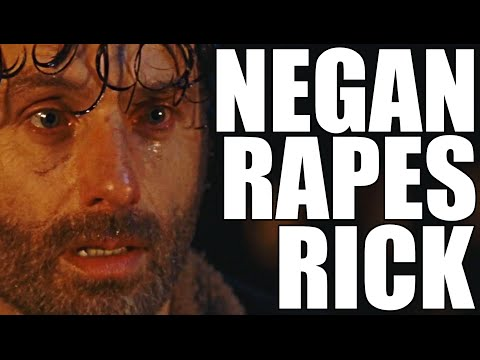 The Walking Dead YTP - Negan Rapes Rick