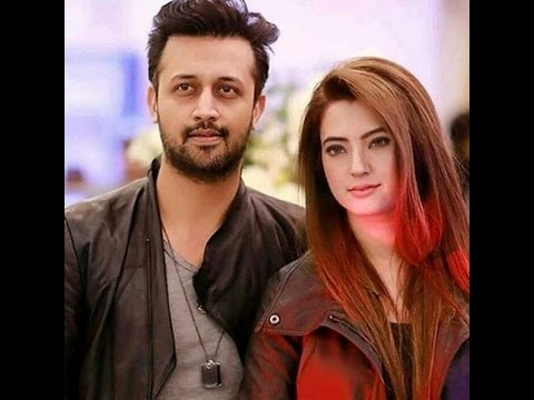 Atif Aslam with his Gorgeous & Pretty wife Sara Bharwana | Beautiful Couple | Must Watch