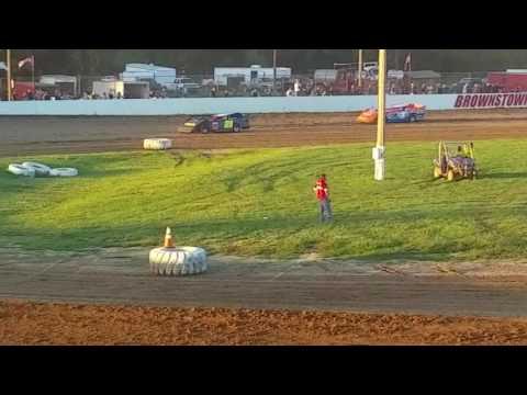 Brownstown Speedway 7-16-2016 Super Stock Heat Race