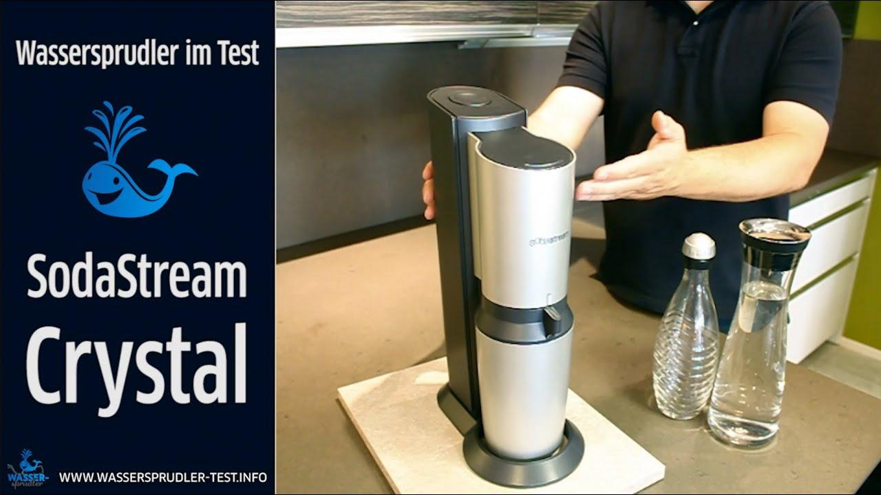 sodastream crystal ausf hrlicher test des wassersprudlers youtube. Black Bedroom Furniture Sets. Home Design Ideas