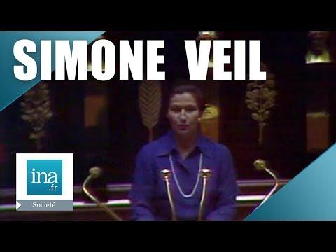 Simone Veil présente la loi IVG à l'Assemblée Nationale | Archive INA