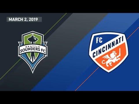 HIGHLIGHTS: Seattle Sounders FC vs. FC Cincinnati | March 2, 2019