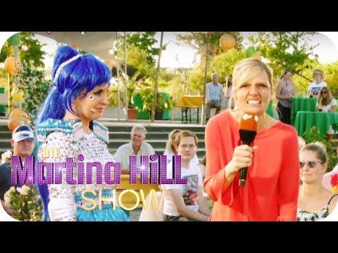 Starlight Express Star zu Besuch im Fernsehgarten | Die Martina Hill Show | SAT.1 TV