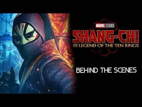 Shang Chi and the Legend of Ten Rings - Behind the Scenes | Andy Le - Death Dealer Actor