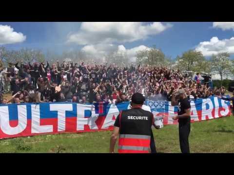 'Paris dans la peau' - Collectif Ultras Paris @ 14.05.2017 Saint-Étienne