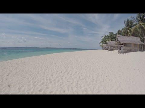 Naked island and Daku island in Siargao, Philippines