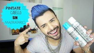 ¡Pinta tu cabello de azul SIN maltratarlo!/Color temporal thumbnail
